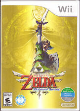The Legend of Zelda: Skyward Sword [Nintendo Wii, NTSC, Link Adventure Game] NEW