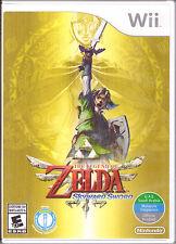 The Legend of Zelda: Skyward Sword [Nintendo Wii, NTSC, Link Adventure Game] NEW
