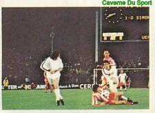 227 MONCHENGLADBACH Vs CRVENA ZVEZDA UEFA CUP STICKER FOOTBALL 1980 BENJAMIN NEW