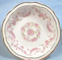Five Z S & Co Bavaria Fruit Dessert Bowls Pink Roses Pattern 508 Scherzer