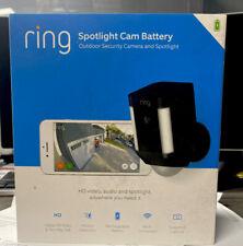 Ring Spotlight Cam Battery Outdoor Security Camera & Spotlight 8SB1S7-NENO NEW!