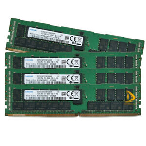 Samsung 4x 16GB 2RX4 PC4-2400T DDR4 19200Mhz Desktop ECC Server Memory RAM Test!