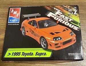 """BNIB ERTL 1:25 """"1995 TOYOTA SUPRA"""". The Fast & the Furious. Skill 2. 10+"""