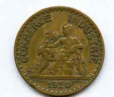 1 Franc CDC 1920  sup bronze/alu