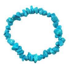 Pulseras de bisutería color principal turquesa de cristal