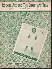 Rockin Around the Christmas Tree 1958 Brenda Lee Sheet Music