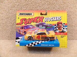 New 1992 Matchbox Diecast NASCAR Super Stockers Ernie Irvan Pepsi 400 Winner