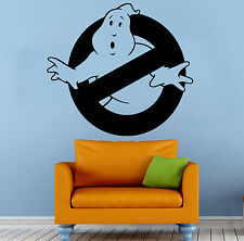 Ghostbusters Wall Decal Cartoon Comics Hero Vinyl Sticker Art Home Mural Decor 1