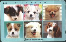 Used Phone card Dogs from Japan  avdpz
