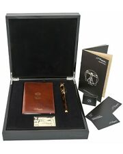 New S.T. Dupont Vitruvian Man Writing Kit Fountain Pen C41007N R:$1,830.00