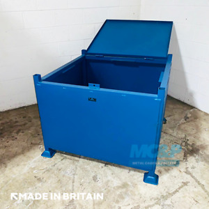 Large Lockable Site Stillage (Storage Box) - Made in the UK £160+VAT