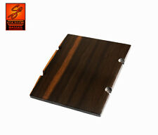 Ebony ramp for Jazz Bass with radius (72mm or 73mm spacing) 83mm in ash or wenge