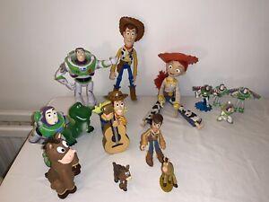 Disney/Pixar Toy Story Bundle + True Talkers Woody & Buzz & Bath Toys