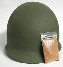 US Helmet Cork Texture Grains Dust WW2 USA Army M1 M2 M1C U.S. Camouflage WWII