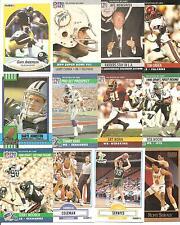 (12) 1990 Syracuse University Orange Alumni Cards NO DUPES! Art Monk Coleman