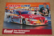 2009 Jason Line Summit Pontiac GXP Pro Stock NHRA postcard