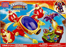 NEW 2012 Mega Bloks 138pc SKYLANDRS GIANTS ARKEYAN COPTER ATTACK 95418 SPYRO 5+Y