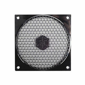 Silverstone Black FF121B 120mm Fan Grill & Filter Kit
