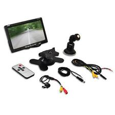 "PLCM7700 7"" LCD Video Monitor + Backup Camera Universal Mount Backup Camera Kit"