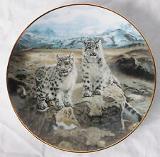 """Secret Heights"" 1991-by Charles Frace-Plate #1208A-Nature's Playmates"