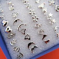 24 Pairs Cute Kids Plastic Soft Post Earrings Stud for Girls Children