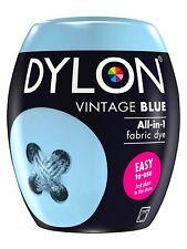 DYLON Textilfarbe Vintage Blau Farbe & Fixierer für 600g Stoff fabric dye blue