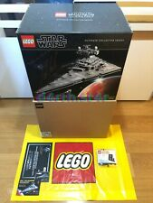 🔹SIGNED🔹Lego Star Wars UCS 75252 Imperial Star Destroyer ISD+XTRAS🔹NEW/RARE🔹