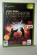 STAR WARS EPISODIO III LA VENDETTA DEI SITH GIOCO NUOVO XBOX ITA PAL VBC 44175