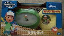 HANDY MANNY VIEW MASTER GIFT SET W/ 3D REELS & CASE NU