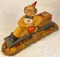 P.T.-R 1994~Tom Clark Gnome~Cairn Item #5253~Ed #24~Train Series~w/COA & Story