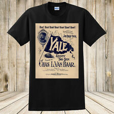 Yale T-Shirt ~ Yale Society Two-Step 1894 Sheet Music University Football ~ NEW