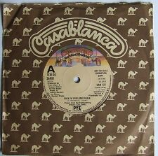 TERI DE SARIO-BACK IN YOUR ARMS AGAIN-UK CASABLANCA *DEMO*-70's DISCO-CAN 137 EX