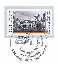 BRD 1994: Öffnung der Grenzen Nr. 1769 mit Berliner Ersttagsstempel! 1A! 1805