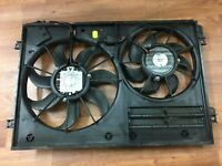 Audi TT 8J MK2 2.0 Fsi genuine radiator cooling fans + housing panel 1K0 121 207