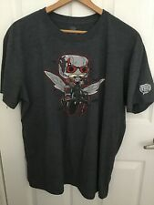 Funko Marvel POP! Ant-Man Gray T-Shirt Size Large