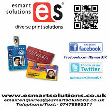 Printed ID/Membership Cards (PVC)  x 1 (FREE P&P UK)