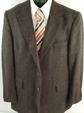 Mens English Manor 100% Wool Charcoal Gray Sport Coat. Size: 42R
