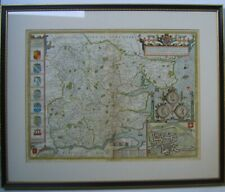 Essex: antique map by John Speed, 1610 (1676 edition)