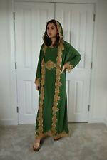 Dubai Con capucha Caftán Medieval Gótico Pagano cos jugar Victoriano Vestido S a XXL