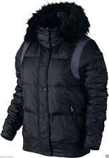 Nike Patternless Zip Waist Length Coats & Jackets for Women