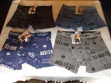 Uomo Herren Unterhose,gemustert,4versch.Farben,92%Cotton,8%Spandex,Gr.XL