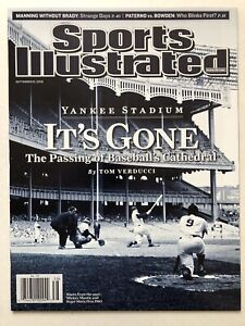 2008 Sports Illustrated Yankee Stadium It`s Gone Mickey Mantle NO LABEL MINT