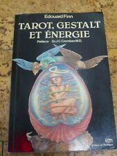 """Cartomancie ésotérisme """"Tarot, Gestalt et énergie"""" par Edouard Finn"""