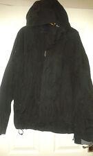 Mens Padded Hooded Coat - Timberland Weatherproof - Black - Size M - Long Sleeve