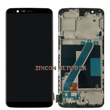 NEW OEM ONEPLUS 5T A5010 6'' LCD AMOLED DISPLAY+TOUCH SCREEN DIGITIZER W FRAME