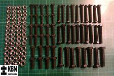 "1/4, 5/16, 3/8 UNC x 1"" & 2"" Setscrews (fully threaded bolts) & Nuts Assortment"