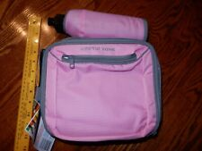 Arctic Zone Insulated Lunch Bag Lunch Pack + a detachable sport bottle Pink Cute