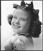 Joan Carroll 1940s Original Stamped Movie Promo Portrait Photo