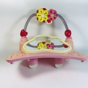 Bright Starts Pretty in Pink Jumper Replacement Mirror Bead Toy Flowers