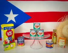Puerto Rico Meal Kit (for making Arroz con Salchichas Carmela + Receta)